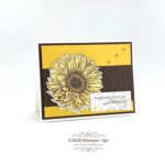 CARD: Lovely card from the Celebrate Sunflowers Bundle