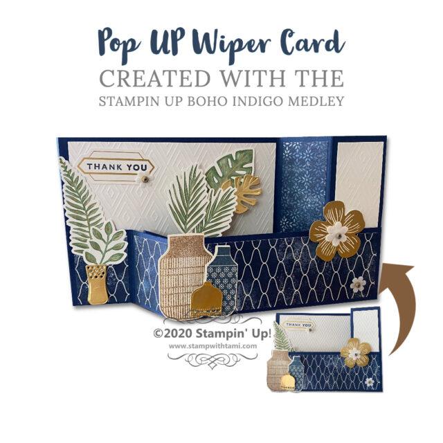 Pop Up Wiper Card