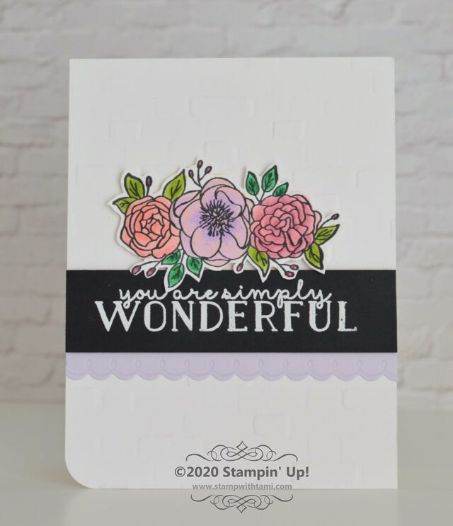 You Are Simply Wonderful Card