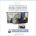 VIDEO: How to make a Boho Indigo Double Z-Fold Wiper Card