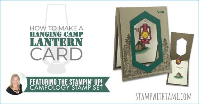 Hanging Camp Lantern Card Set