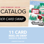 CARD SWAP: Stampin Up Holiday Mini Catalog Full Card Swap – Due July 31