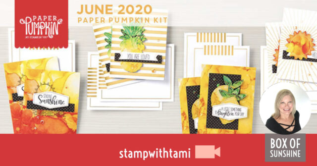 A Box Of Sunshine Card Kit