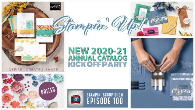 2021 Stampin Up Annual Catalog
