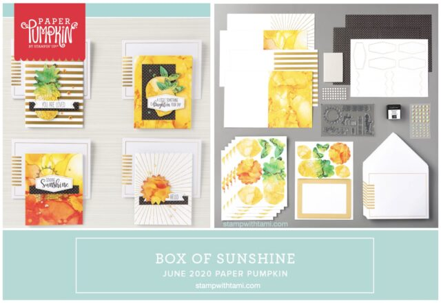 A Box Of Sunshine Card Kits