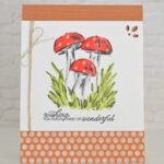 CARD: Wishing you wonderful from the Walk in the Woods Stamps