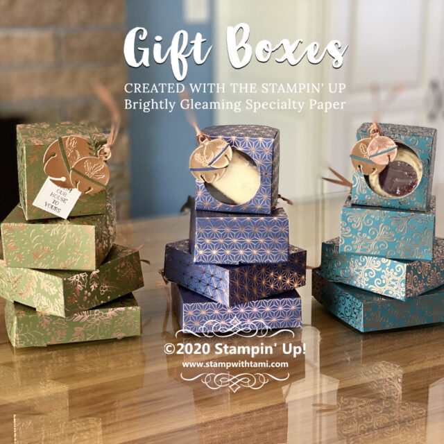 CHRISTMAS IN JULY Gift Boxes
