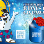Christmas in July – 8 Days of Giveaways is coming! July 15-22