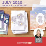 "VIDEO: July 2020 Paper Pumpkin ""Summer Nights"" Card Kit plus alternatives"