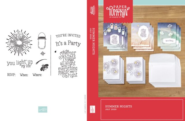 Summer Nights Card Kits