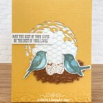 CARD: The Best of Your Lives card from the Birds and Branches Stamp Set