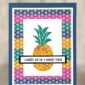 CARD: Sweet friend card from the Cute Fruit Stamps