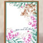 CARD: You can do this from the Forever Fern Stamps – new