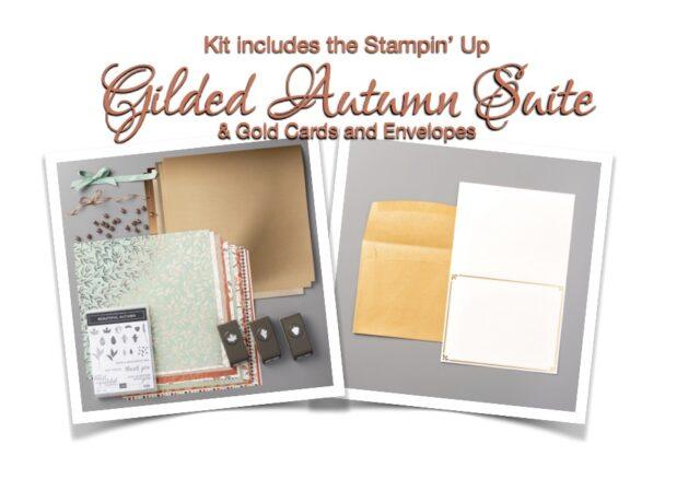 Gilded Autumn Card Kits