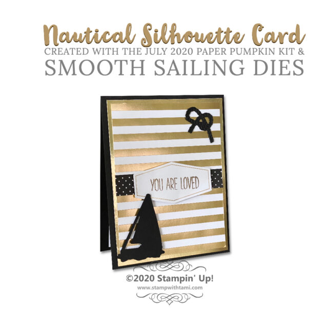 Silhouette Cards & Custom Background Paper Smooth Sailing Dies