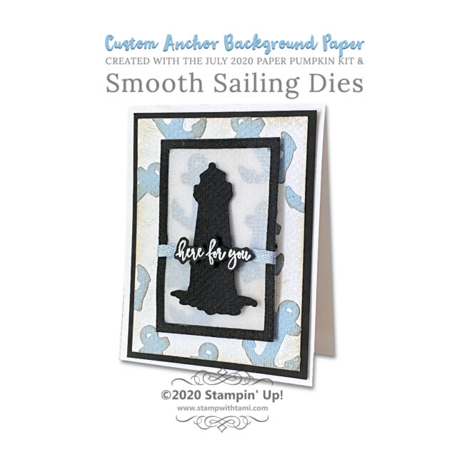 Custom Anchor Background Paper