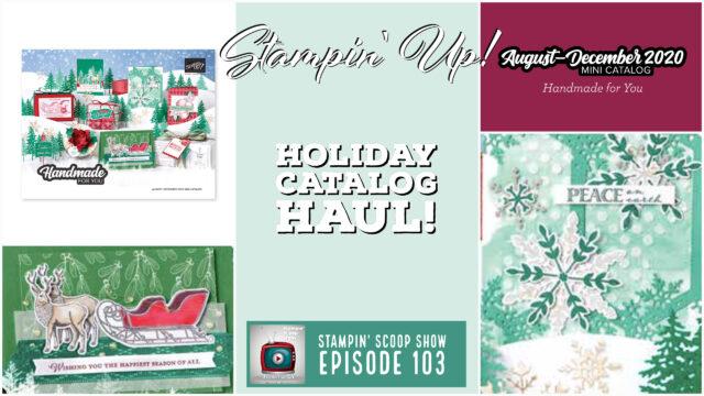 Holiday Catalog Mega-Reveal