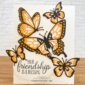 CARD: Your friendship is a blessing from the Butterfly Beauty Dies