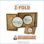 VIDEO: How to make a World Z-Fold Card