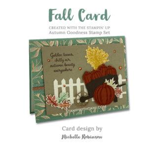 autumn goodness 2stampin up 2020 holiday mini catalog