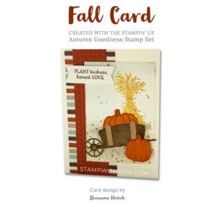 autumn goodness stampin up 2020 holiday mini catalog