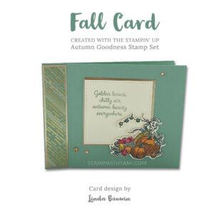 autumn goodness1 stampin up 2020 holiday mini catalog