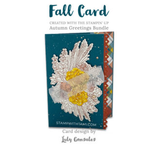autumn greetings stampin up 2020 holiday mini catalog