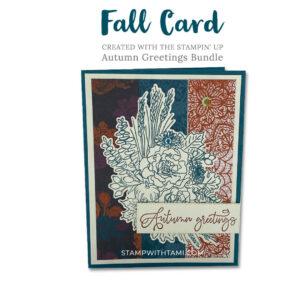 autumn greetings stampin up 2020 holiday mini catalog copy