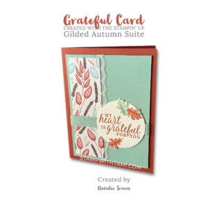 beautiful autumn card natalie travis stampin up