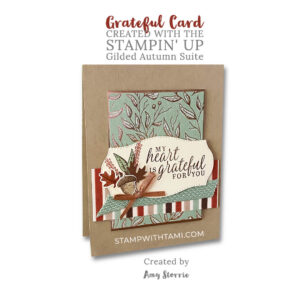 beautiful autumn stampin up amy storrie