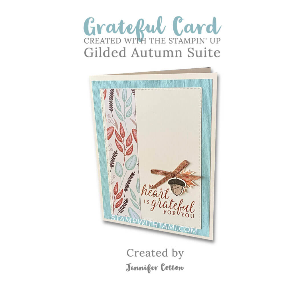 beautiful autumn stampin up jennifer cotton