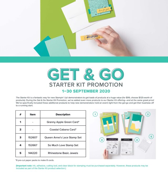 2 Free Stamp Sets and Card Kits with the Demo Kit