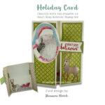 CARD: Don't stop believin' in Santa card