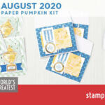 "VIDEO: August 2020 Paper Pumpkin ""World's Greatest"" Card Kit and cool alternate card"