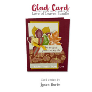 love of leaqves 2stampin up 2020 holiday mini catalog