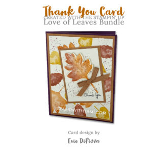 love of leaves1stampin up 2020 holiday mini catalog