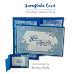 CARD: May your season sparkle from the Snowflake Splendor Suite