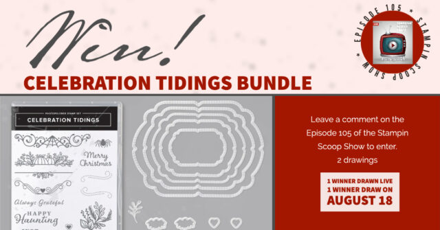 Win Celebration Tidings Bundle
