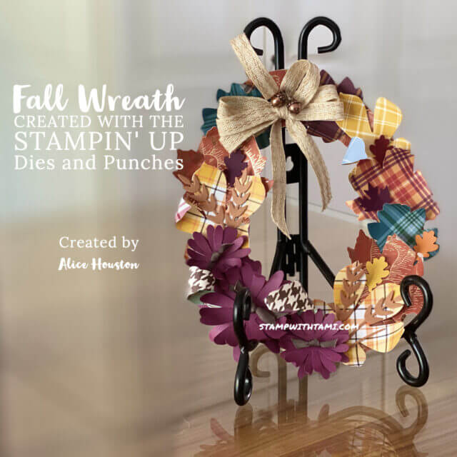 20 Paper Crafting Ideas for Fall wreath