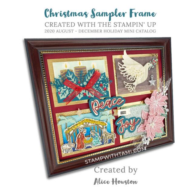 Alices Holiday Sampler Frame