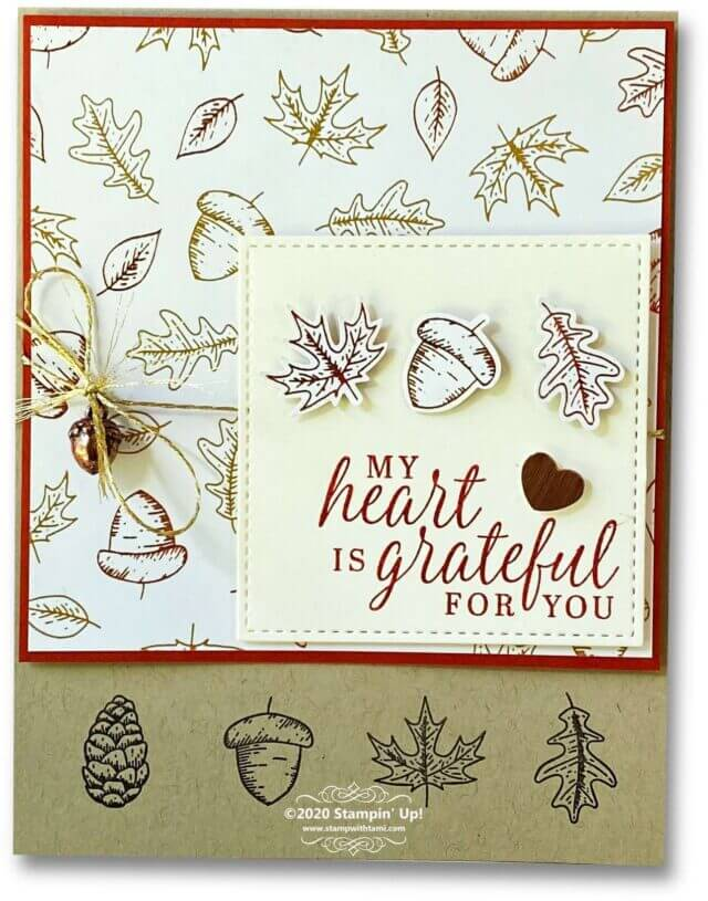 20 Paper Crafting Ideas for Fall cards