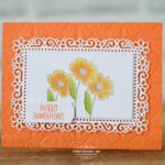 stampin up ornate style under my umbrella card