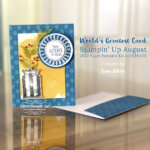 CARD: Fun alternate to the August Paper Pumpkin kit