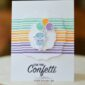 CARD: Cue the confetti card from the Hippo Happiness bundle