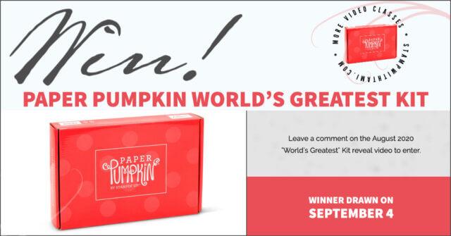 Win paper pumpkin world's greatest kit