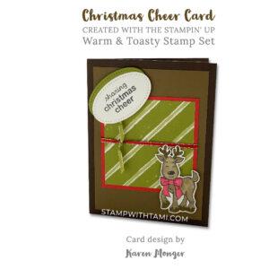 warm and toasty 1stampin up 2020 holiday mini catalog