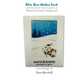 warm and toasty stampin up 2020 holiday mini catalog