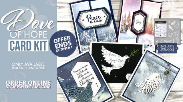 Dove of Hope Christmas Card Kits