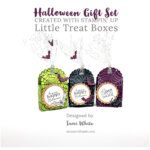 BLOG HOP & VIDEO: How to make a set of Halloween Card & Treat Boxes