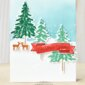 CARD: Christmas Wishes from In the Pines Stamp